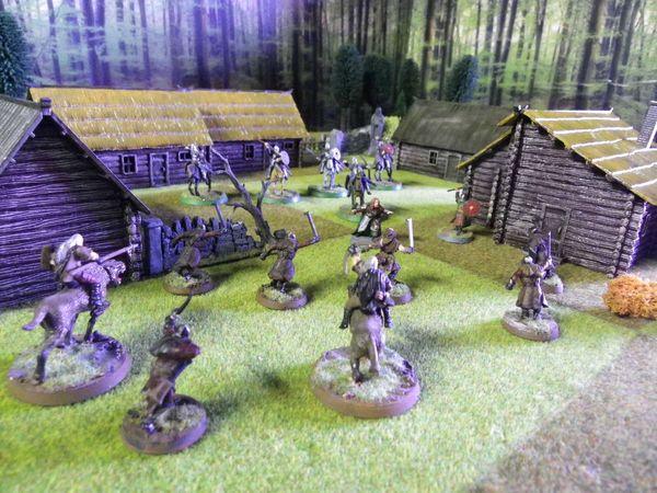 attaque contre les villages du rohan