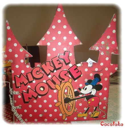 Mini chateau disney W8