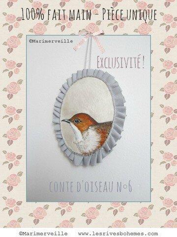 Conte d'oiseau N°6 ©Marimerveille