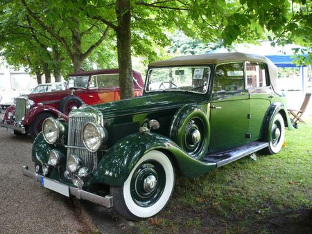 ARMSTRONG SIDDELEY 20-25 Salmsons & Tickford drophead coupé 1936 Baden Baden (1)