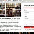 Les bibliothécaires parisiens manifestent contre l'ouverture le dimanche de nouveaux établissements
