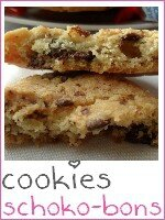 Cookies aux schoko-bons - index