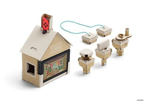 maison switch nintendo labo EzEvEl