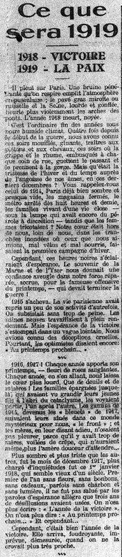 Le Petit Journal 01 01 1919-2