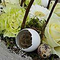 Atelier floral spécial pâques : mercredi 29 mars, 20h