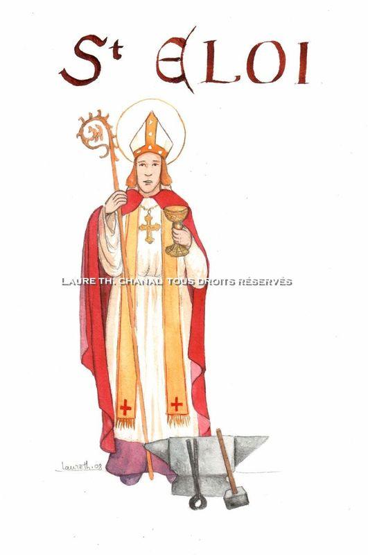 Saint Eloi, évêque