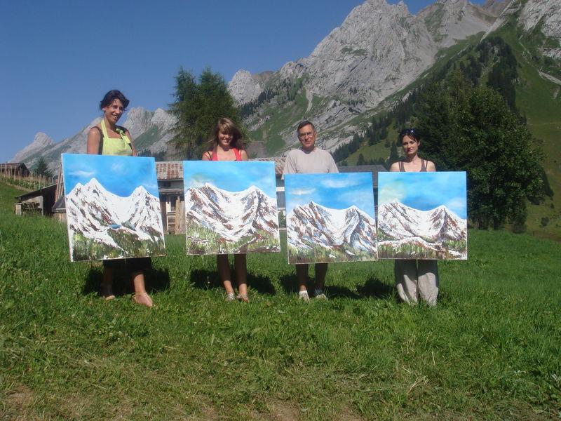 stage montagne 1er août09