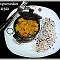 Curry de poisson en cocotte