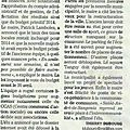 Second conseil municipal (aricle du midi libre, 25 avril 2014)