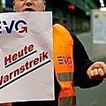 Fribourg - bâle : grève des chemins de fer