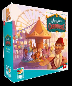 Boutique jeux de société - Pontivy - morbihan - ludis factory - Monsieur Carrousel