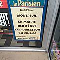 La réintégration au melies, vue par le parisien le 29 mai 2014