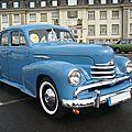 OPEL Kapitän '51 berline 4 portes 1953 Speyer (1)