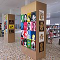 Expo idem+arts à la bibliothèque de maubeuge