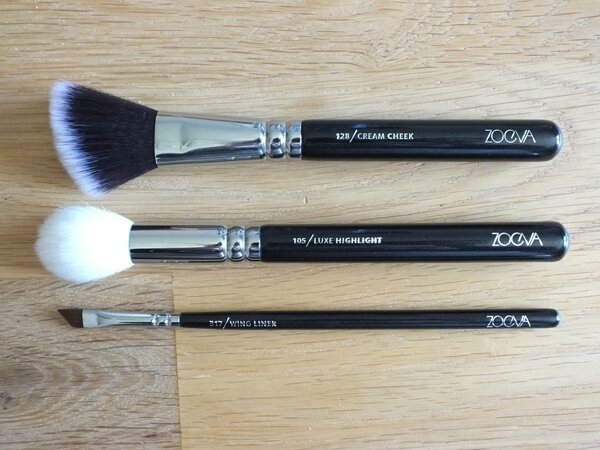 3 Classic Brush Set Kit Pinceaux Teint Yeux Zoeva The Beautyst