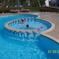 L'une des piscines chauffées (ben oui, c'est l'hiver !!!)