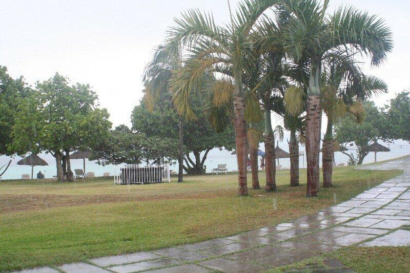 La pluie !