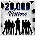 Nous avons franchi le cap des 20.000 visites