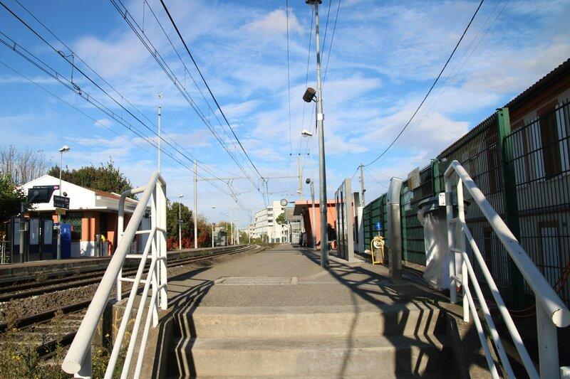 Quai de la gare Saint-Agne