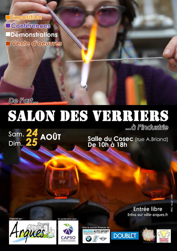affiche salon des verriers 2019