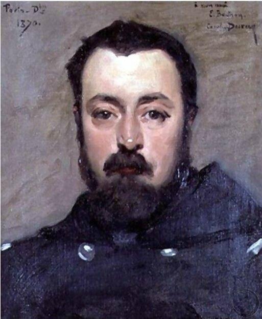 Carolus Duran, portrait de Berthon (Dbre 1870)