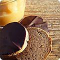 Compote pommes-coings & granolas choco-chataigne-sarrasin (sans gluten)
