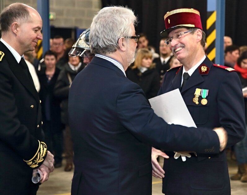 SDIS HIRSON 2016 SERGE LABALETTE Jean-Jacques Thomas