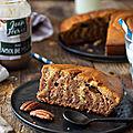 Zebra cake vanille/pécan #sanslactose