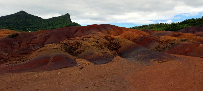Cascade, la terre aux 7 couleurs de Chamarel - île Maurice
