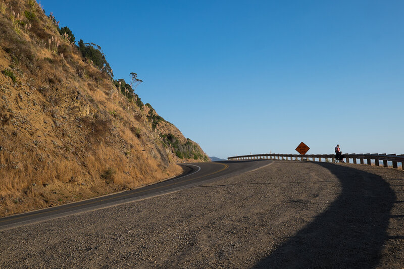 cycliste route 1