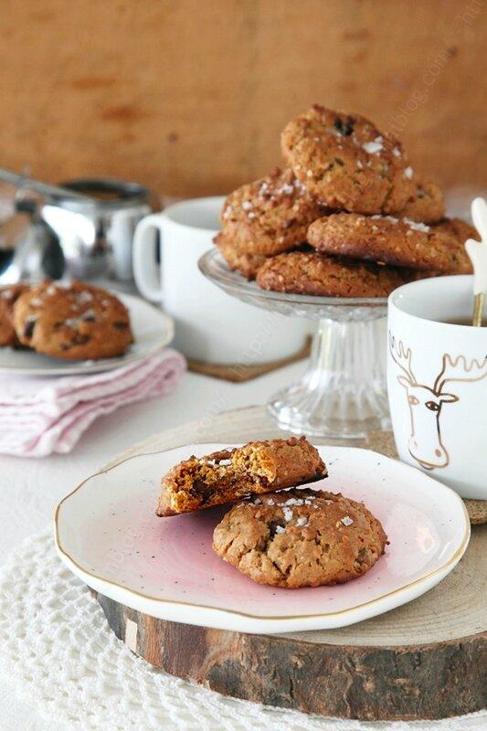 cookies beurre de cacahuete 000002 LE MIAM MIAM BLOG