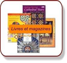 livres et magazines patchwork