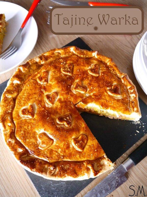 Tajine Warka Tunisien au saumon & thon 3