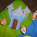tapis de jeu en tissu fait main, handmade fabric play mat (2)