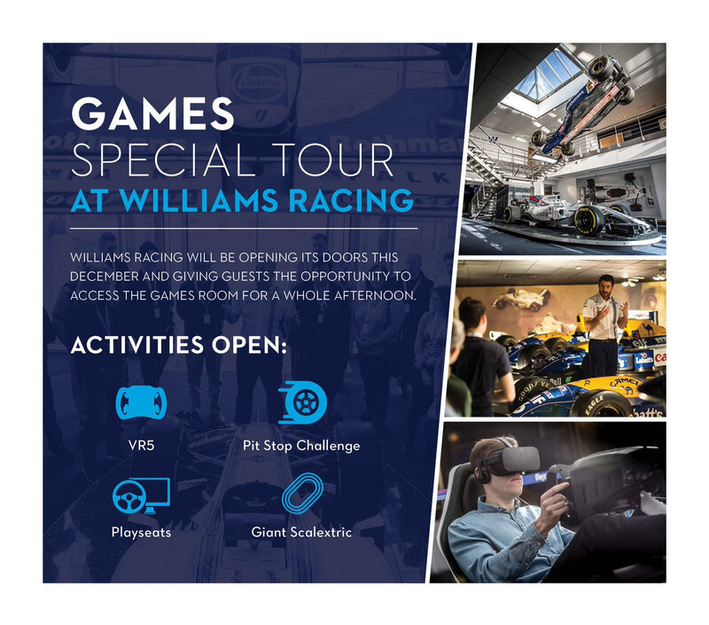 williams race day 2019 conference