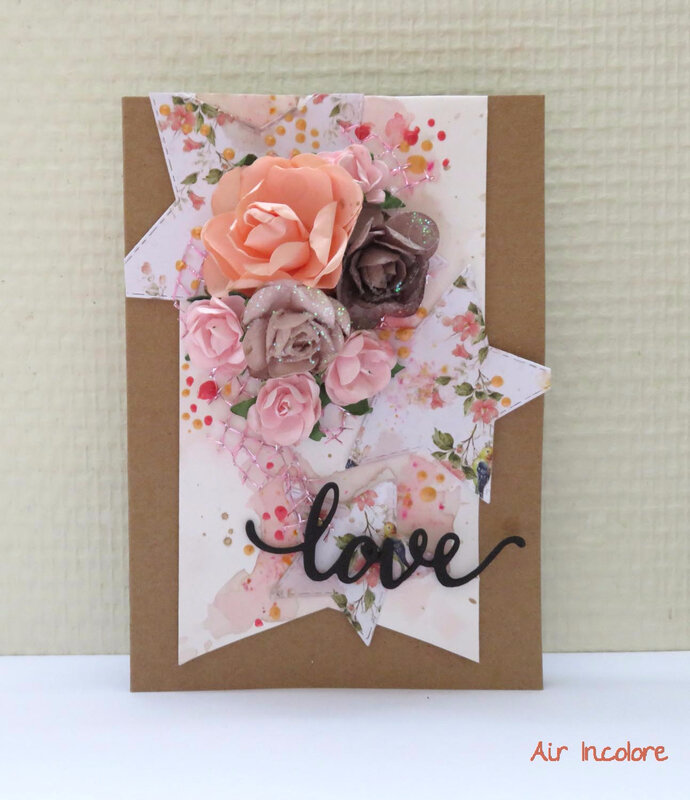 Free Shabby love card