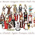 affiche saints gaignault