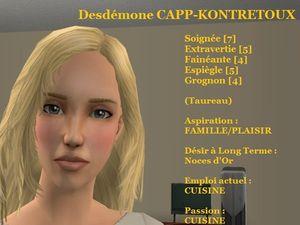 Desdémone CAPP-KONTRETOUX