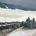 Castres, entrée de l'armée de Bourbaki aux Verrières
