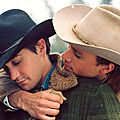 Jake Gyllenhaal et Heath Ledger dans Le Secret de Brokeback Mountain