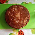 Gâteau normand aux pommes, sans gluten, sans lait, vegan