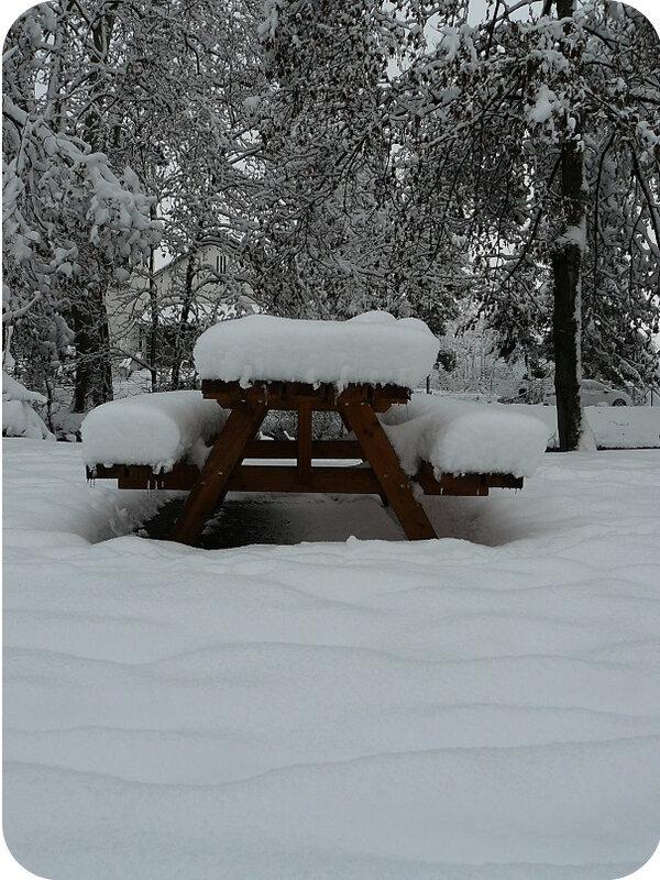 Quartier Drouot - Photo neige 2