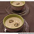 Veloute pommes de terre-celeri truffe