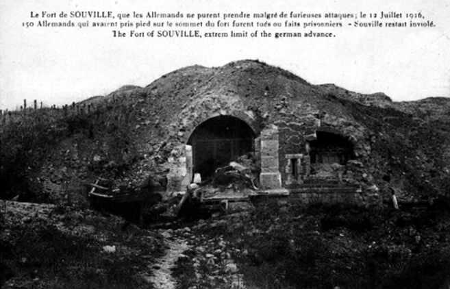 Fort de Souville entrée1