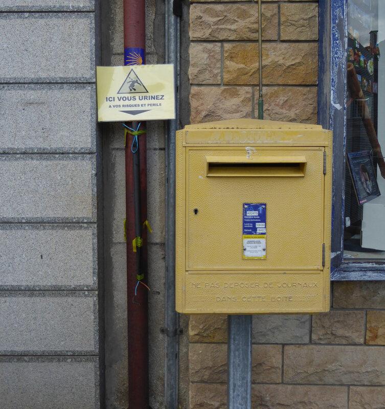 Défense d'uriner