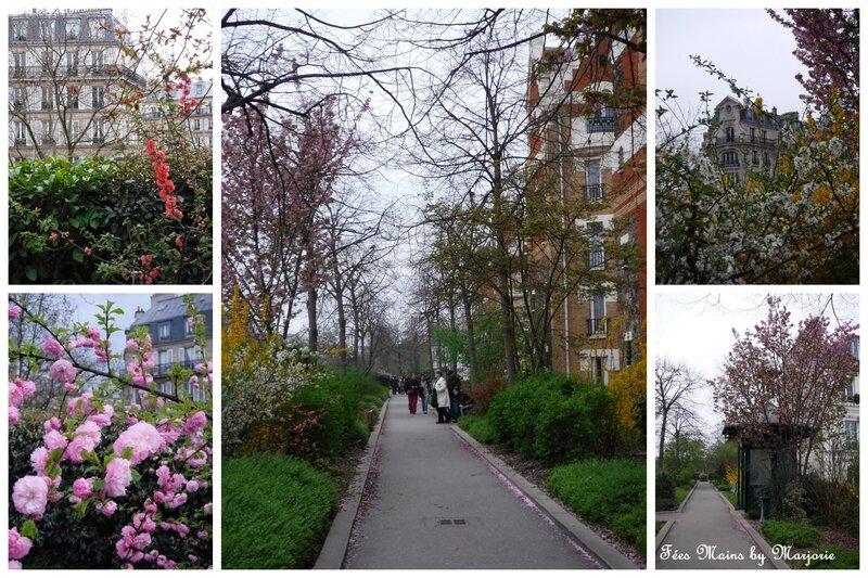Paris Coulée verte promenade plantée mars 2017