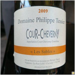 Cour-Cheverny Domaine Philippe Tessier Les Sables 2009