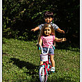 Acrobaties en vélo - acrobatics on a bike