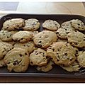Mes cookies croustillants