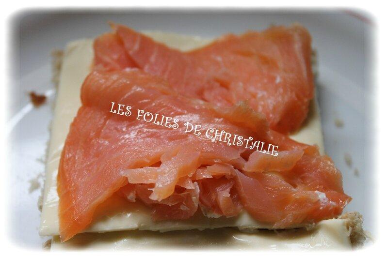 Croques gaufrés saumon 3